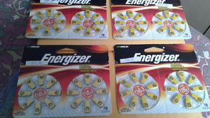 Long Tab Energizer Hearing Aid Batteries Size 10