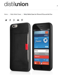 NEW Distil Union from Denmark iPhone 6 Wallet Case from