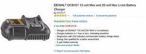 New DeWALT DCB-volt Max and 20-volt Max Li-Ion Battery