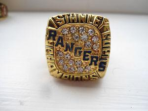 New York Rangers Stanley Cup Championship REPLICA Ring