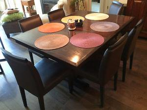 """Newport Trestle Table """"Poco"""" with 6 chairs"""