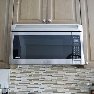 Panasonic Combo of Microwave and hood fan, OTR, new:
