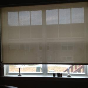 Patio door blind