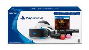 Playstation vr + games and move controllers.