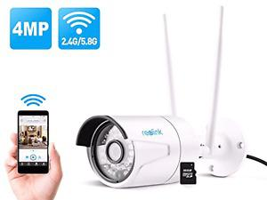 Reolink RLC410WS 4MP Wireless Security IP Camera
