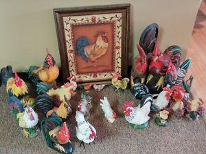 Rooster collection to go
