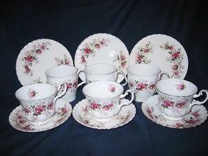 Royal Albert - Lavender Rose - Mugs, Cups & Plates (12pcs)