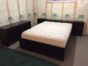 Simmons Beautyrest Queen Size Mattress with bedroom set