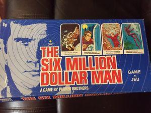 Six Million Dollar Man board game