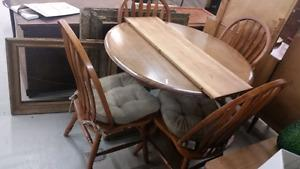 Solid Wood Dining Set for Sale