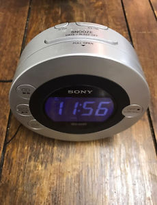 Sony Clock Radio with CD Player and Ipod dock