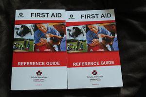 St. John Ambulance First Aid Handbooks