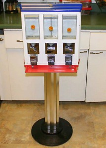 Vintage Candy & Gumball Coin Vending Machine