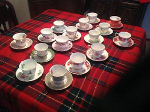 Vintage -s Bone China Cups & Saucers- $ EACH
