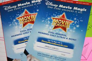 Wanted: Looking For Disney Movie Reward Codes