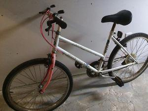 Womens Supercycle 12 speed mountain bike, (24 Inch tires)