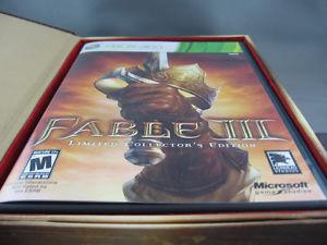 XBOX 360 Fable III Collector's Edition - $40