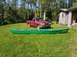 17 Foot Coleman Canoe