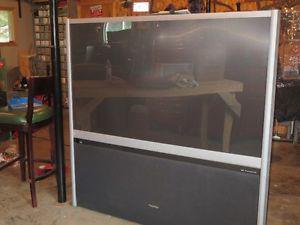 "65"" Projection Screen TV"