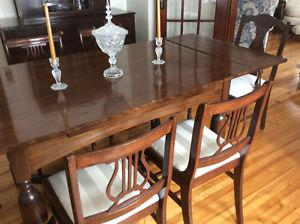 Antique Dining Room Set with China Cabinet