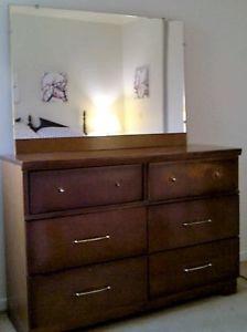 Bedroom Set Complete (Circa s) Solid Wood