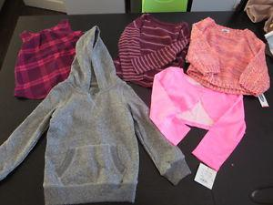 Brand New Girls size 4, 5, and 6 clothes