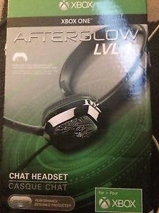 Brand new Xbox one afterglow lvl 1 headset
