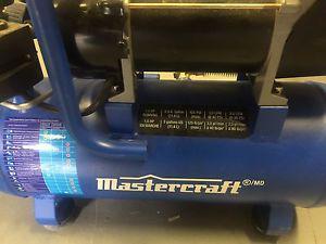 Brand new mastercraft air compressor