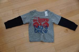 """Children's Place """"Dad's Crew"""" Shirt - Brand New with Tags"""
