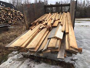 Clear cedar and pine