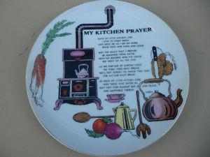 Collector Plate My Kitchen Japan $20.
