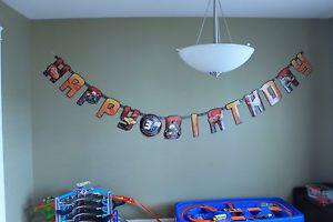 Disney cars party decorations