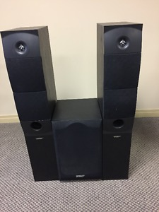 Energy XL-25 and Energy XL-S8 Speakers