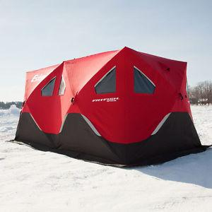 Eskimo i insulated pop up for ice fishing