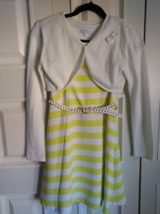Girls Dress and Sweater