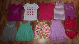 Girls Gap 8-9 Tops & Swimsuit
