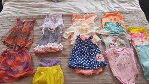 Girls spring summer lot 3mths / 3-6mths
