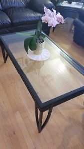 Glass coffee tables! *On hold*