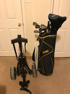 Golf Clubs - Golf Cart - Golf Bag