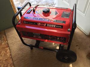 King W Gasoline Generator with Wheel Kit