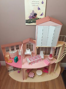 Large Barbie House for Sale. $50