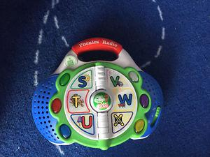 Leap frog phonics radio ABC baby and toddler