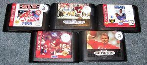 Lot of 5 Sega Genesis sports games $10