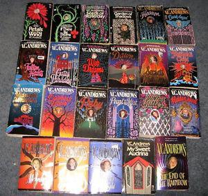 Lot of VC Andrews books $20 for the lot