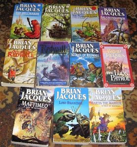 Lot of brian jacques books $10
