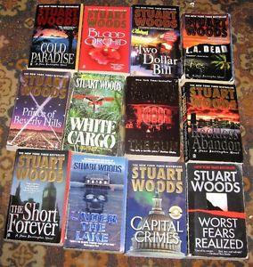Lot of stuart woods books $10
