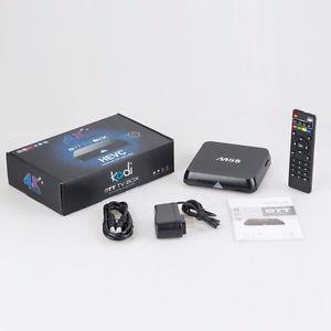 M8S Android tv box like new 2 GIG ddr3 ram