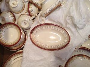 Myott 12 place setting of china, made in England