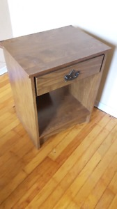 Night tables with drawers