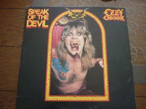 OZZY OSBOURNE-SPEAK OF THE DEVIL DOUBLE LP